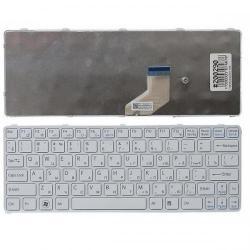 Tastatura Notebook Sony Vaio SVE11 US, White Frame, White S5221-W