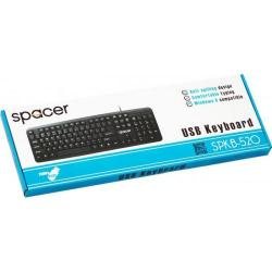 Tastatura Spacer SPKB-520, USB, Black