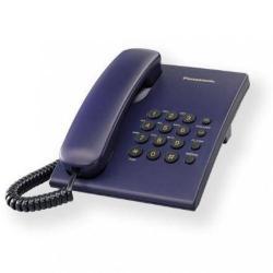 Telefon Analogic Panasonic KX-TS500FXC, blue