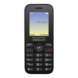 Telefon mobil Alcatel 1016, Volcano Black