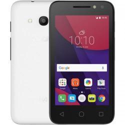 Telefon Mobil Alcatel 4034D Pixi 4 Dual SIM, 4GB, 3G, White