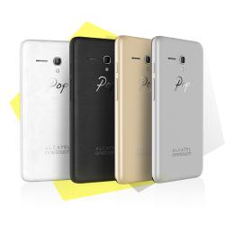 Telefon mobil Alcatel Pop 3, 4G, 5065D, Dual Sim, Soft Silver