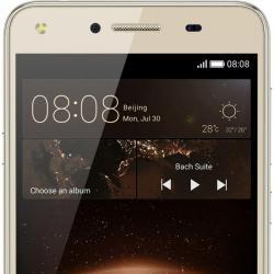 Telefon Mobil Huawei Y5II Dual Sim 8GB, 4G, Sand Gold
