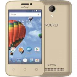 Telefon Mobil myPhone Pocket Dual SIM, 4GB, 3G, Gold