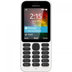 Telefon Mobil Nokia 215 Single SIM White