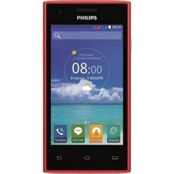 Telefon Mobil Philips S309 Dual SIM, 8GB, 3G, Red