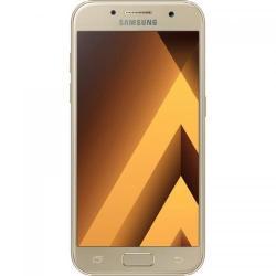 Telefon Mobil Samsung Galaxy A3 (2017) Single SIM, 16GB, 4G, Gold