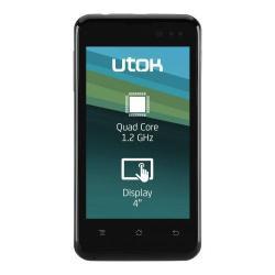 Telefon Mobil UTOK 400 Q Dual Sim, 4GB, 3G, Black
