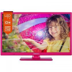 Televizor LED Horizon 24HL712H  Seria HL712H, 24inch, HD Ready, Pink