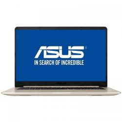 Ultrabook Asus VivoBook S15 S510UQ-BQ203, Intel Core i7-7500U, 15.6inch, RAM 8GB, HDD 1TB, nVidia GeForce 940MX 2GB, Endless OS, Gold Metal