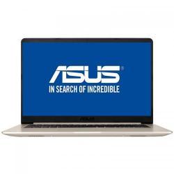 Ultrabook Asus VivoBook S15 S510UQ, Intel Core i7-7500U, 15.6inch, RAM 4GB, HDD 1TB, nVidia GeForce 940MX 2GB, Endless OS, Gold Metal