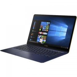 Ultrabook ASUS ZenBook 3 Deluxe UX490UAR-BE082R, Intel Core i7-8550U, 14inch, RAM 16GB, SSD 1TB, Intel UHD Graphics 620, Windows 10 Pro, Blue Metal