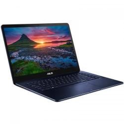 Ultrabook Asus ZenBook Pro UX550VE-BO017R, Intel Core i7-7700HQ, 15.6inch Touch, RAM 16GB, SSD 512GB, nVidia GeForce GTX 1050 Ti 4GB, Windows 10 Pro, Royal Blue