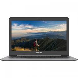 Ultrabook Asus Zenbook UX310UQ-FB504, Intel Core i7-7500U, 13.3inch, RAM 8GB, SSD 256GB, nVidia GeForce 940MX 2GB, Endless OS, Grey