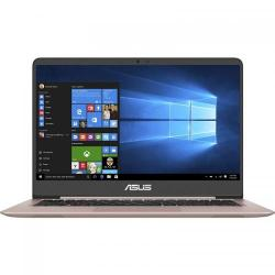 Ultrabook Asus ZenBook UX410UA, Intel Core i7-7500U, 14inch, RAM 8GB, HDD 1TB + SSD 128GB, Intel HD Graphics 620, Windows 10, Rose Gold