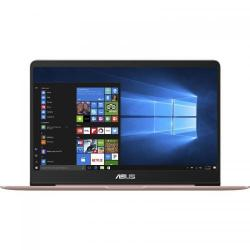 Ultrabook ASUS ZenBook UX430UA-GV104T, Intel Core i7-7500, 14inch, RAM 8GB, SSD 256GB, Intel HD Graphics 620, Windows 10, Rose Gold