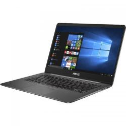 Ultrabook ASUS ZenBook UX430UQ-GV007T, Intel Core i5-7200U, 14inch, RAM 8GB, SSD 256GB, nVidia GeForce 940MX 2GB, Windows 10, Grey