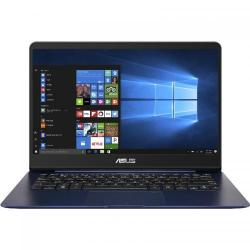 Ultrabook Asus ZenBook UX430UQ-GV012R, Intel Core i7-7500U, 14inch, RAM 16GB, SSD 512GB, nVidia GeForce 940MX 2GB, Windows 10 Pro, Blue