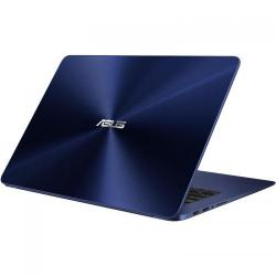 Ultrabook Asus ZenBook UX530UQ-FY031R, Intel Core i7-7500U, 15.6inch, RAM 8GB, SSD 512GB, nVidia GeForce 940MX 2GB, Windows 10 Pro, Blue