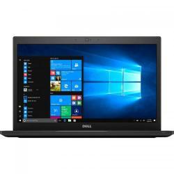Ultrabook Dell Latitude 7480, Intel Core i5-7300U, 14inch, RAM 8GB, SSD 256GB, Intel HD Graphics 620, 4G, Windows 10 Pro, Black