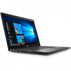 Ultrabook DELL Latitude 7480, Intel Core i7-7600U, 14inch, RAM 16GB, SSD 512GB, Intel HD Graphics 620, Linux, Black