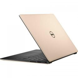 Ultrabook DELL New XPS 13 (9360), Intel Core i7-7500U, 13.3inch Touch, RAM 8GB, SSD 256GB, Intel HD Graphics 620, Windows 10 Pro, Rose Gold