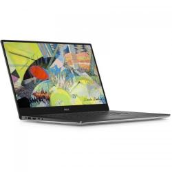 Ultrabook Dell New XPS 15 (9560), Intel Core i7-7700HQ, 15.6inch, RAM 8GB, SSD 256GB, nVidia GeForce GTX 1050 4GB, Windows 10 Pro, Silver