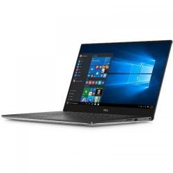 Ultrabook DELL New XPS 15, Intel Core i7-7700HQ, 15.6inch, RAM 8GB, SSD 256GB, nVidia GeForce GTX 1050 4GB, Windows 10 Pro, Silver