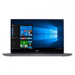 Ultrabook Dell XPS 15 (9550), Intel Core i5-6300HQ, 15.6inch Touch, RAM 8GB, SSD 256GB, nVidia GeForce GTX 960M 2GB, Windows 10, Silver