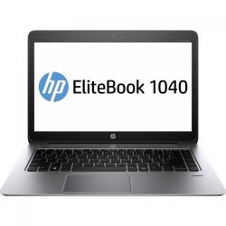 Ultrabook HP EliteBook Folio 1040 G2, Intel Core i5-5200U, 14inch, RAM 8GB, SSD 256GB, Intel HD Graphics 5500, Windows 7 Pro + Windows 10 Pro, SIlver