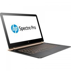 Ultrabook HP Spectre Pro 13 G1, Intel Core i5-6200U, 13.3inch, RAM 8GB, SSD 256GB, Intel HD Graphics 520, Windows 10 Pro, Dark Ash
