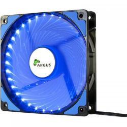 Ventilator Inter-Tech Argus L-12025 Blue LED, 120mm