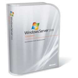 Windows Server Standard 2008 OEM R2 SP164Bit English 1pk DVD 1-4CPU 5 Clt