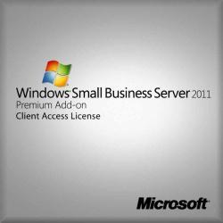 Windows Small Business Server Premium Add CAL 2011 64bit, 1pk 5 Clt User OEM