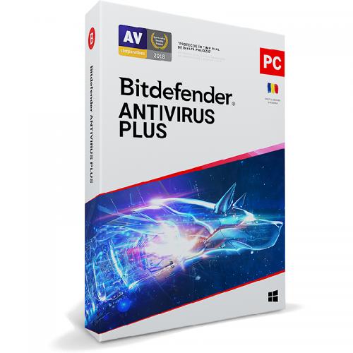 Bitdefender Antivirus Plus 2020, 3users/1year, Base Retail