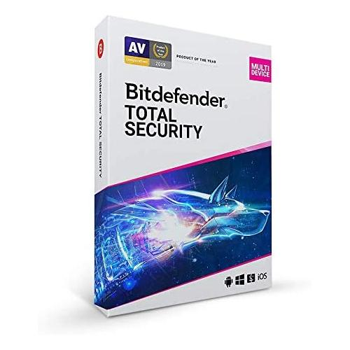 Bitdefender Total Security Multi-Device 2021, 5 users/1 year, Base retail