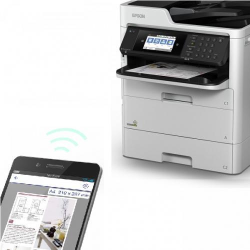 Multifunctional InkJet Color Epson WorkForce Pro WF-C579RDTWF