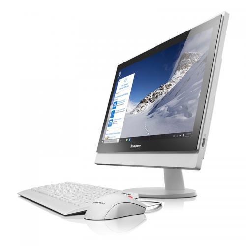 Calculator Lenovo S400Z AIO, Intel Core i3-6100U, 21.5inch, RAM 4GB, SSH 1TB, Intel HD 520, Windows 7 Pro + Windows 10 Pro, White