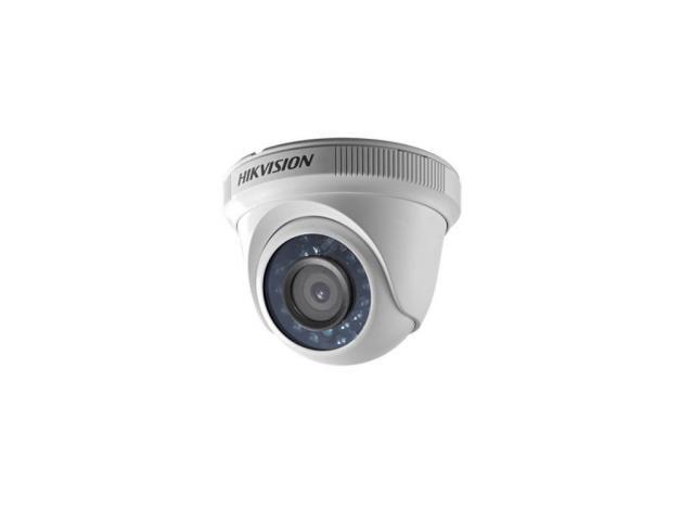 Camera HD Dome Hikvision DS-2CE56C0T-IRPF, 1MP, Lentila 2.8mm, IR 20m