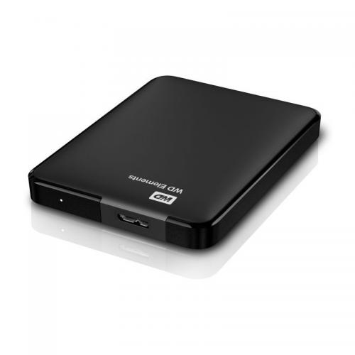 Hard disk portabil Western Digital Elements Portable 1TB, USB 3.0, 2.5inch, Black