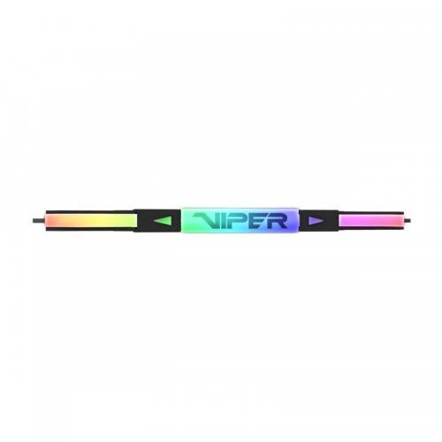 Kit Memorie Patriot Viper RGB Black 16GB, DDR4-3600MHz, CL16