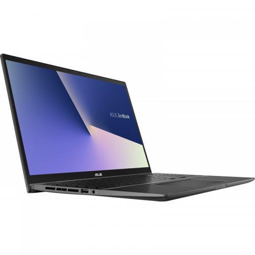 Laptop 2-in-1 ASUS ZenBook Flip 15 UX563FD-EZ043R, Intel Core i7-10510U, 15.6inch Touch, RAM 16GB, SSD 1TB, nVidia GeForce GTX 1050 4GB, Windows 10 Pro, Gun Grey