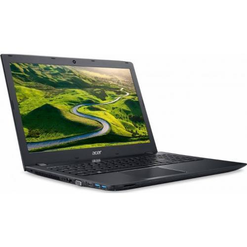 Laptop Acer Aspire E5-575G-54ZK, Intel Core i5-7200U, 15.6inch, RAM 4GB, SSD 256GB, nVidia GeForce 940MX 2GB, Linux, Black