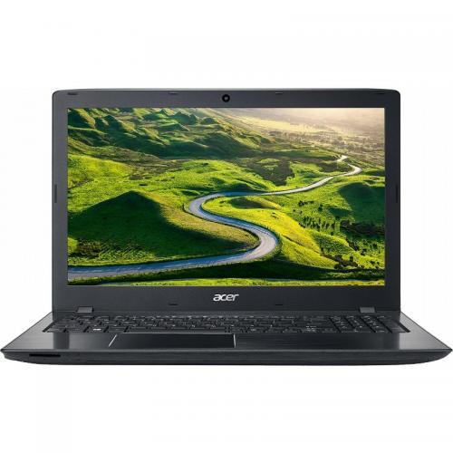 Laptop Acer Aspire E5-575G, Intel Core i5-7200U, 15.6inch, RAM 4GB, SSD 128GB, nVidia GeForce 940MX 2GB, Linux, Black