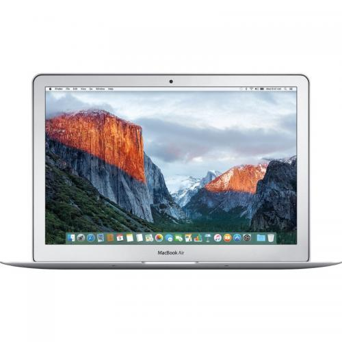 Laptop Apple MacBook Air 13, Intel Core i5-5250U, 13.3inch, RAM 8GB, SSD 256GB, Intel HD Graphics 6000, Mac OS X El Capitan, Silver