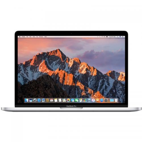 Laptop Apple New MacBook Pro 13 Retina, Intel Core i5-7360U, 13.3inch, RAM 8GB, SSD 128GB, Intel Iris Plus Graphics 640, Mac OS Sierra, Silver
