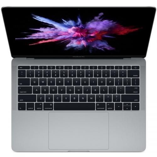 Laptop Apple New MacBook Pro 13 Retina, Intel Core i5-7360U, 13.3inch, RAM 8GB, SSD 256GB, Intel Iris Plus Graphics 640, Mac OS Sierra, Space Grey