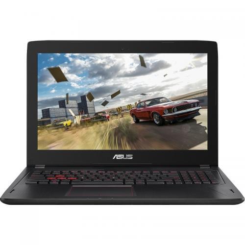 Laptop ASUS FX502VM-FY293, Intel Core i7-7700HQ, 15.6inch, RAM 8GB, HDD 1TB, nVidia GeForce GTX 1060 3GB, Endless OS, Black