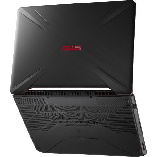 Laptop Asus FX505GD-BQ125, Intel Core i7-8750H, 15.6inch, RAM 8GB, HDD 1TB, nVIDIA GeForce GTX 1050 4GB, Free DOS, Black