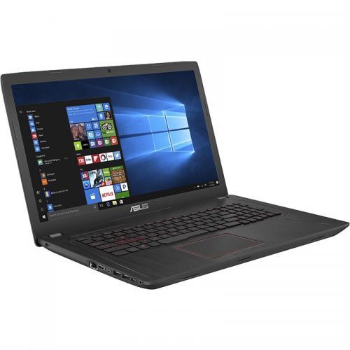 Laptop ASUS FX553VE-DM323, Intel Core i5-7300HQ, 15.6inch, RAM 8GB, HDD 1TB, nVidia GeForce GTX 1050 Ti 2GB, Endless OS, Black